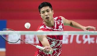 泰國羽球公開賽》不敵安賽龍 周天成連2周止步四強