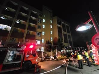 北區老人之家火警  疏散60人、1人嗆傷送醫
