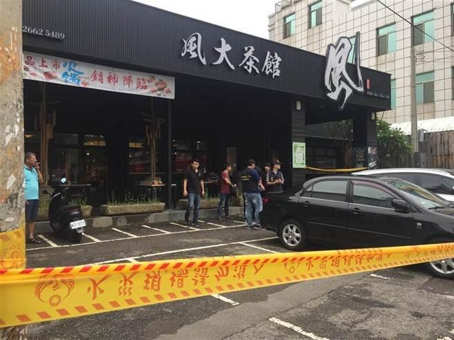 雙煞持長短槍掃射沙鹿茶藝館26槍,造成一死仍未破案。(中時資料庫)