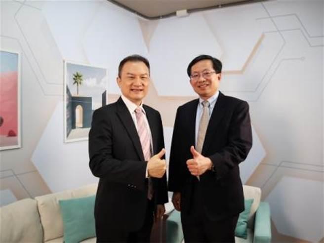 理財周刊發行人洪寶山(左)、蘇孟宗(右)。(圖/理財周刊提供)