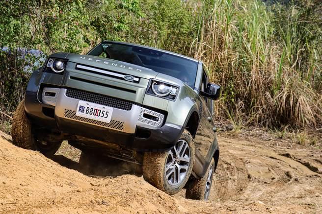 持續征途世界 Land Rover Defender試駕