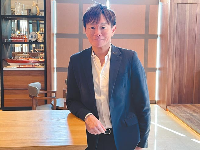 昇貿集團總經理李弘偉。圖/王賜麟
