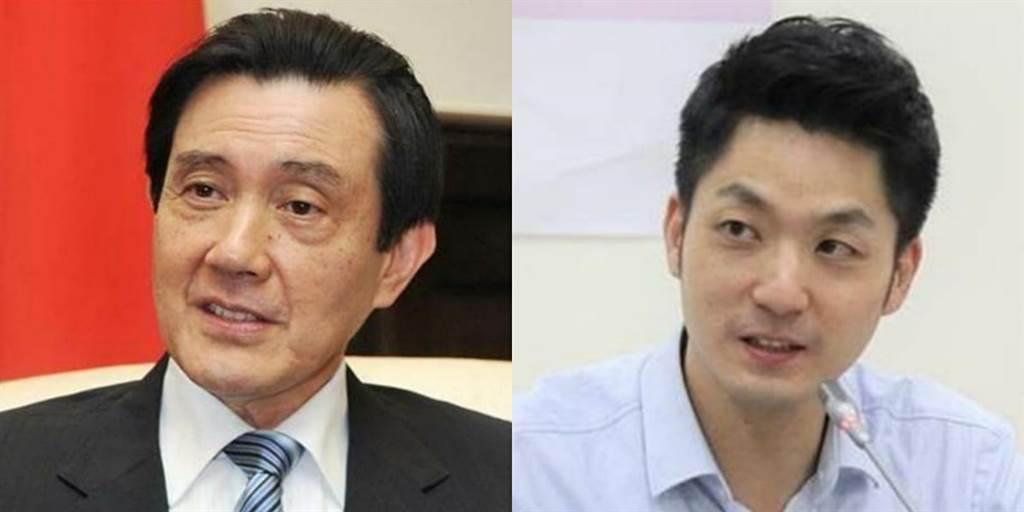 前總統馬英九(左)、國民黨立委蔣萬安(右)。(圖/合成圖,素材取自本報系資料照)