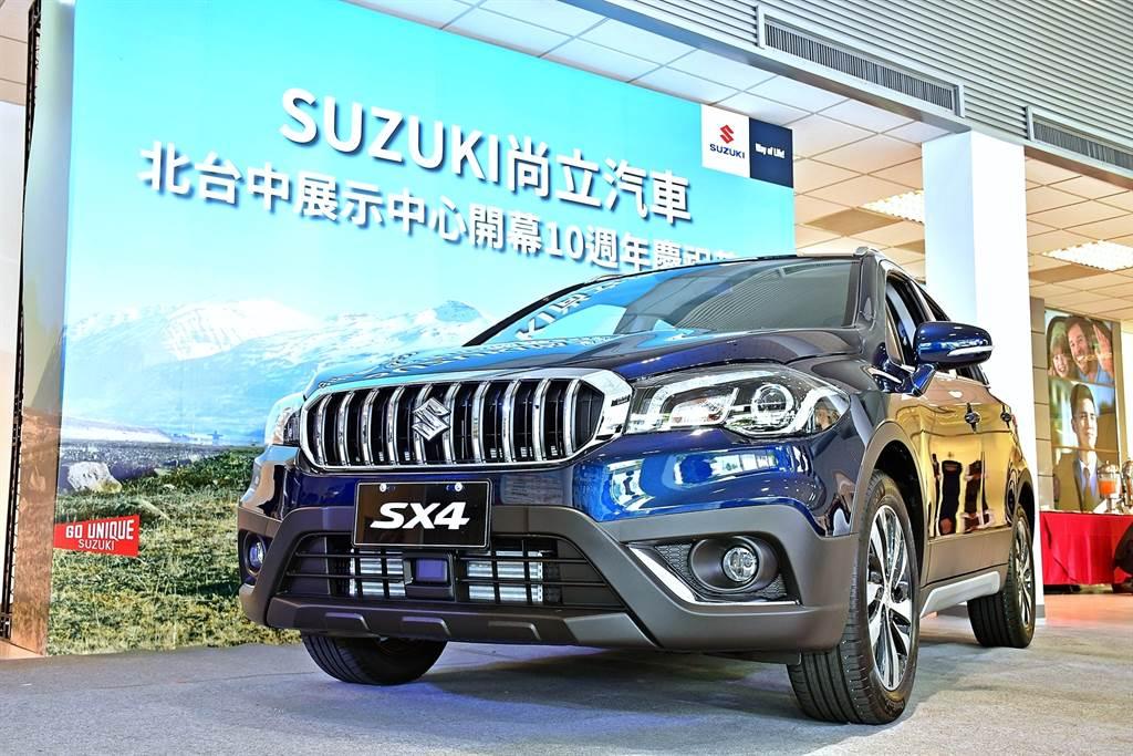 搭載ACC售價小漲 SUZUKI小改款SX4正式上市