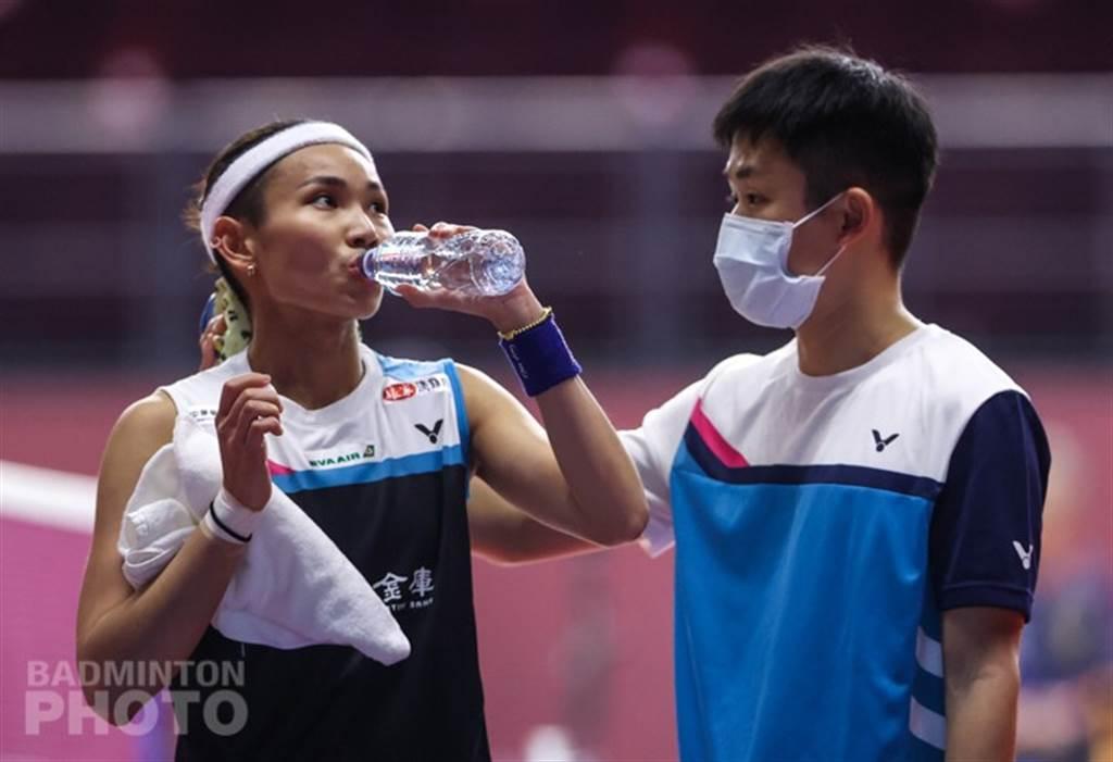 戴資穎(左)。(Badminton Photo提供)