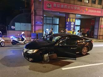 通缉犯拒检逃逸 衝撞另一辆汽车后遭逮