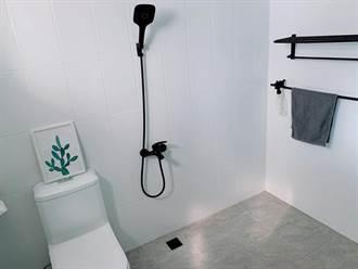 浴室改造僅花2萬元!神人DIY傳統衛浴變身現代極簡風
