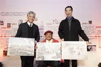 國寶漫畫劉興欽88回顧展 老中青粉絲齊聚拾回童心