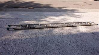 绿营吁救火安全速购耐热美式梯 中市消防局:已先採购6具