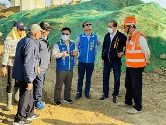國四潭子段高架橋下排水亂流 地方要求改善