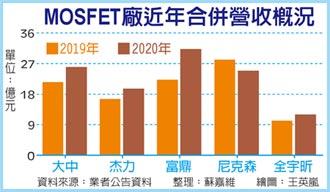 MOSFET漲 台廠業績衝