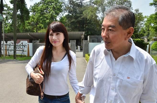 高國華、陳子璇去年認了9年婚姻告吹。(圖/中時資料照片)