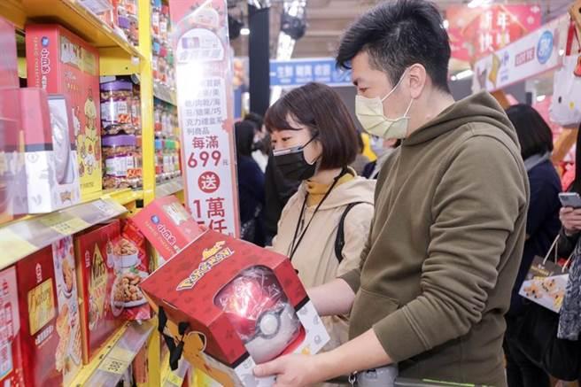 家樂福大搶農曆春節買氣,宣布將祭出超過2億元的現金折價券大方送。圖/業者提供