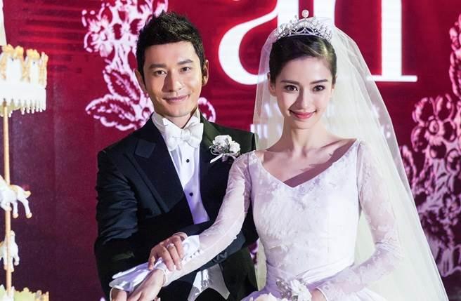 黃曉明2015年與Baby舉行盛大婚禮。(本報系資料照)