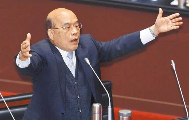 行政院長蘇貞昌就職滿2周年。(圖/本報系資料照片)
