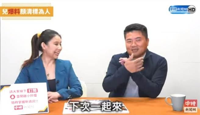 前立委顏寬恒接受《中時新聞網》專訪時,幽默談全家身材問題。(翻攝《中時新聞網》)