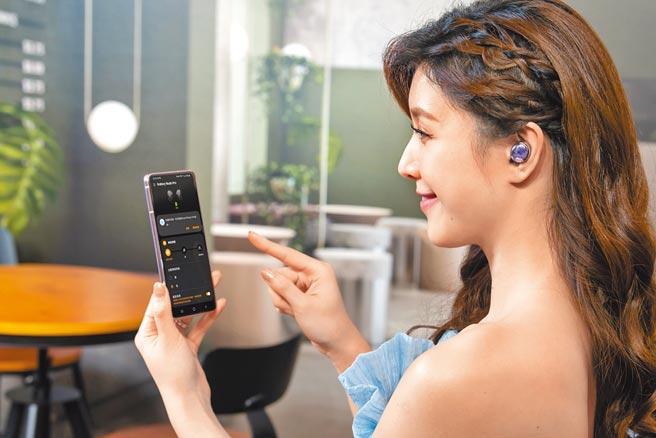 Galaxy Buds Pro可阻隔高達99%的外部噪聲,提供沉浸式的絕佳聆聽。(三星提供)