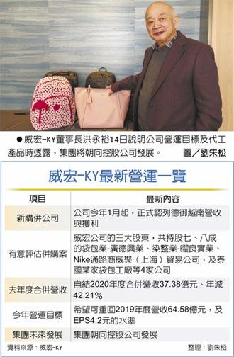 威宏转型控股 拟併购4公司
