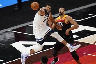 NBA》唐斯發文證實中鏢 灰狼與灰熊之戰延期