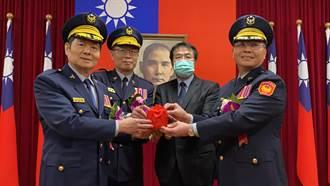 台南市警察局長交接 黃偉哲期許方仰寧:沒有最好只有更好