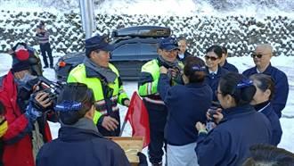 向雪季執勤員警致敬 慈濟志工連續11年上山送暖