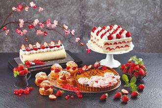 草莓季甜鹹創意料理 顛覆饕客想像