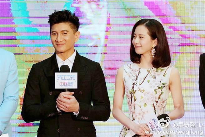 吳奇隆和劉詩詩2016年結婚。(圖/翻攝自吳奇隆微博)