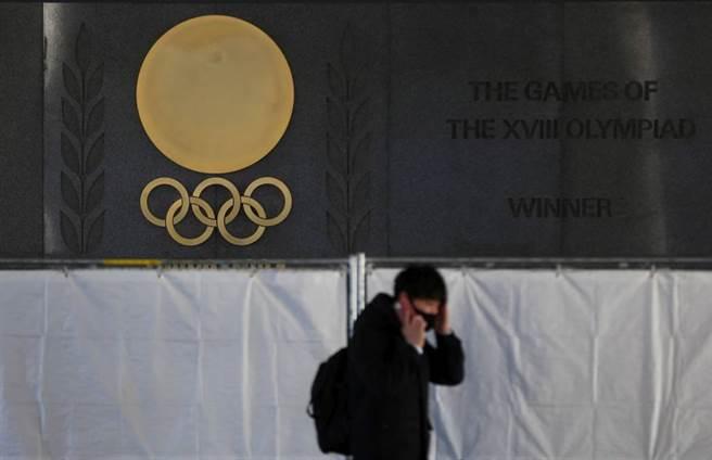外媒傳言東京奧運有可能成為二次大戰後,第一個被迫取消舉辦的奧運。(美聯社資料照)