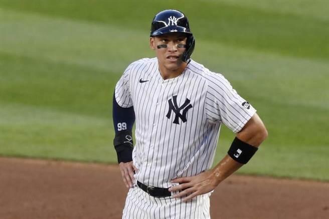 紐約洋基外野手賈吉共8位球員獲得加薪,避免走上仲裁。(美聯社資料照)