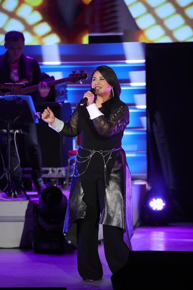 裘海正今在台北國際會議中心開唱。(海樂影業提供)
