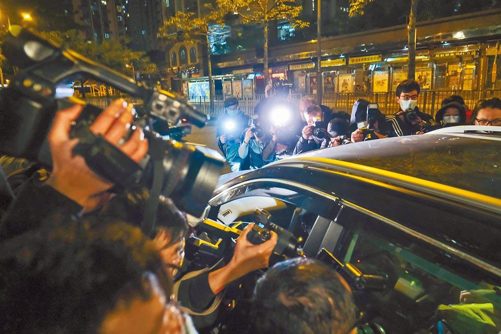 香港警方拘捕53人涉嫌違反香港國安法顛覆國家政權罪。(中新社)