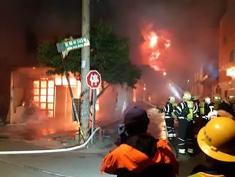 龍潭凌晨傳火警 慈善組織據點、洗車廠雙遭燒毀