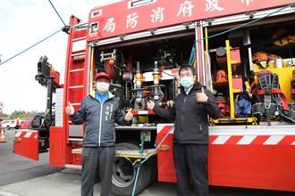 台南开基玉皇宫捐1.5万颗住警器 民眾平安过好年