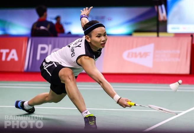 戴資穎在YONEX泰國羽球公開賽女單決賽苦戰中。(資料照/Badminton Photo提供)