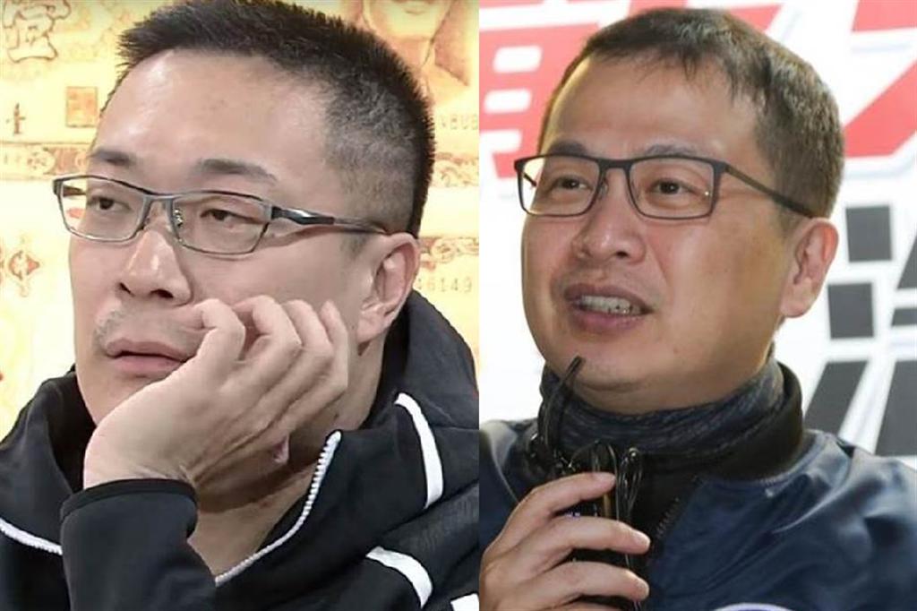 陳柏惟針對朱學恒(左)、羅智強的批評回嗆。(合成圖/摘自羅智強臉書、資料照)