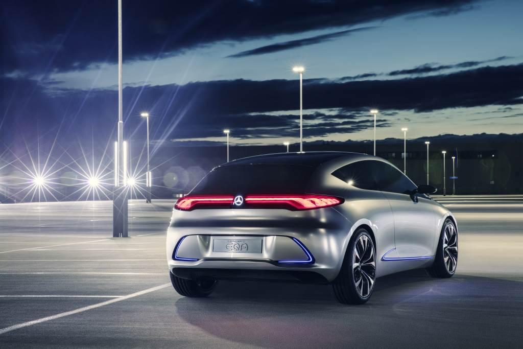 Mercedes-Benz預告這個月EQA即將正式亮相