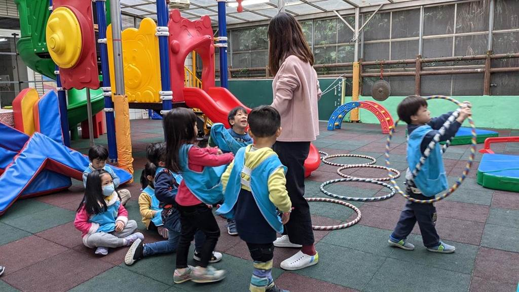 基隆全市45所公立幼兒園,寒假全面開辦「全日班」課後留園服務。(基隆市政府提供/陳彩玲基隆傳真)
