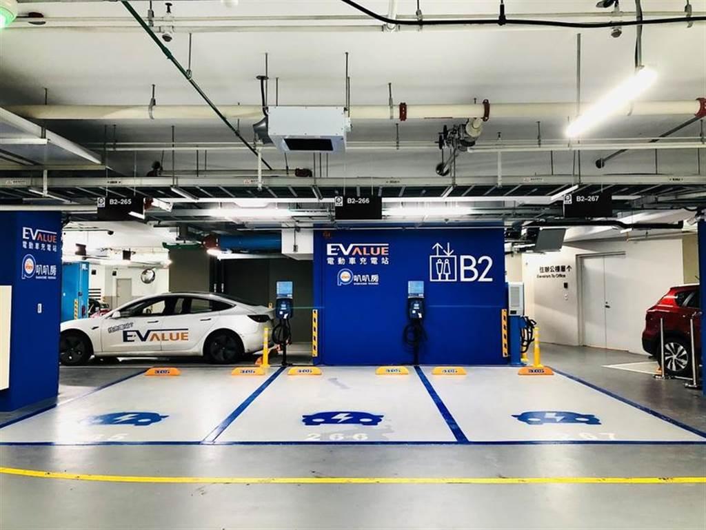 華城 EVALUE 啟用南軟園區快充站:全台首座「非特斯拉」室內 DC 充電站