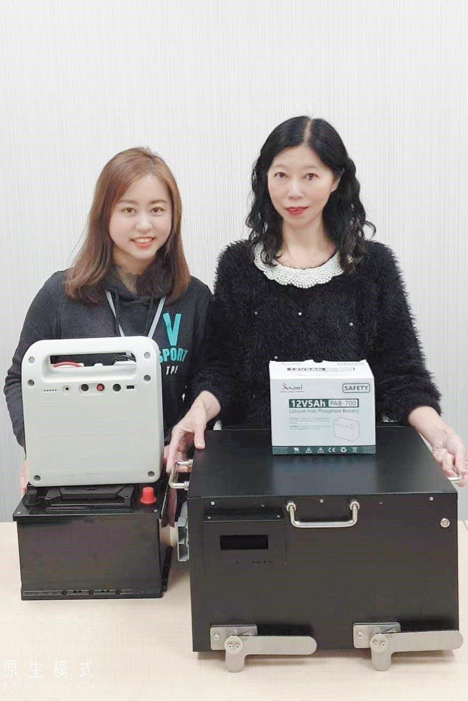 奇岩開發新智能電池,款式齊全可因應相關產業動力電池與儲能電池等市場需求。圖/奇岩綠能提供