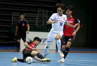 黃侑威、郭杰森領銜 U20培訓隊奪五人制足球聯賽首勝