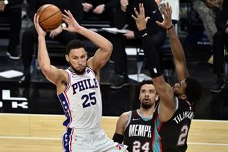 NBA》第14場延賽!七六人與雷霆之戰緊急喊卡