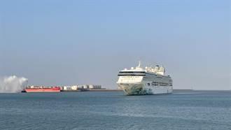 星夢郵輪探索夢號首靠台中港 帶來上千國旅旅客
