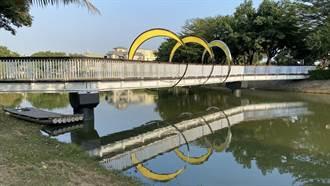 台南鹽水月津港燈節下月登場 水域景觀璀璨變身