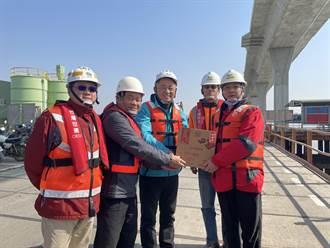金門大橋可望年底完工 楊鎮浯預約舉辦跨年晚會