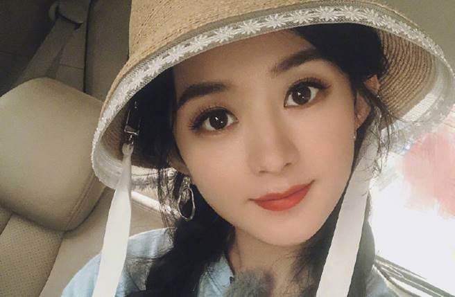 趙麗穎近期忙拍《幸福到萬家》。(圖/取材自微博)