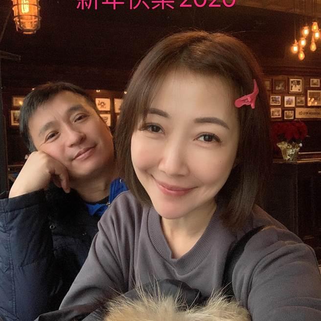 王中平與余皓然是演藝圈的模範夫妻檔,兩人婚後一對兒女,湊得「好」字。(圖/取材自王中平和余皓然愛的小屋臉書)
