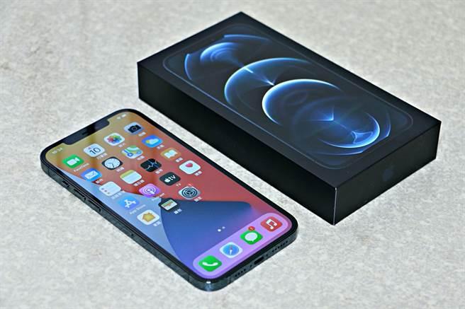 iPhone 12 Pro Max。(黃慧雯攝)