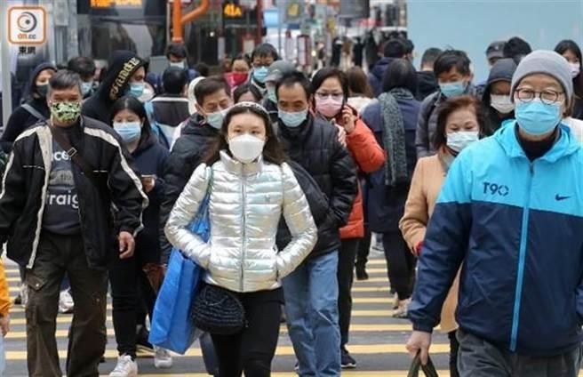 香港疫情持續蔓延,18日新增超過100宗病例。(取自東網)