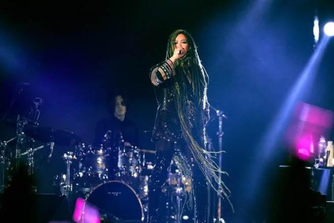 阿妹日前在台東開唱盛況空前。(資料照)
