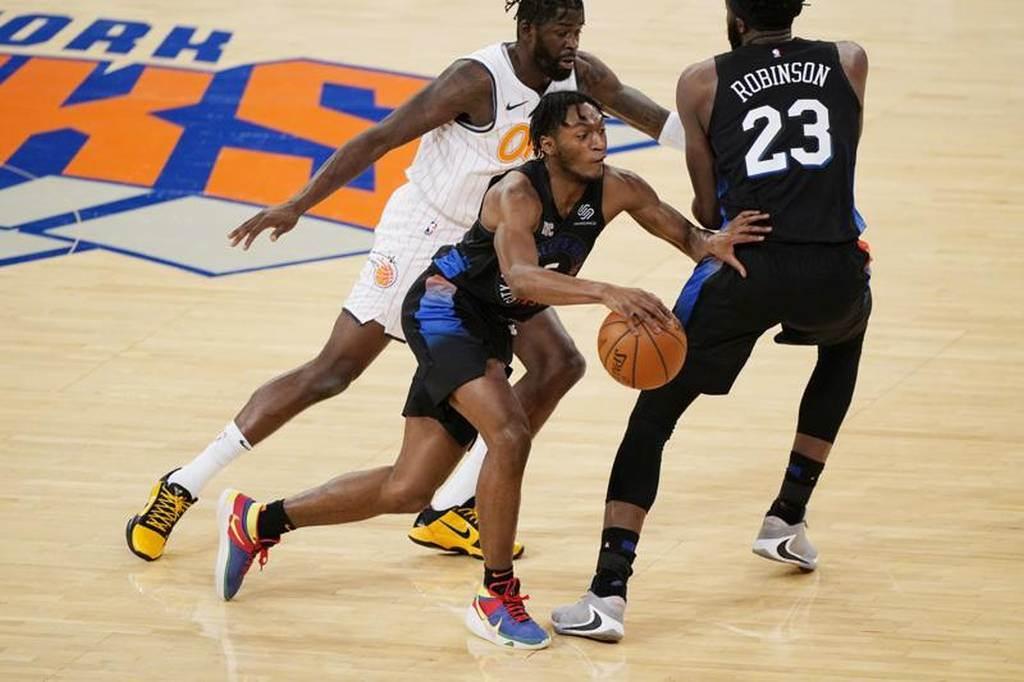紐約尼克蟬聯NBA市值最高的球隊,估計超過50億美元。(美聯社)